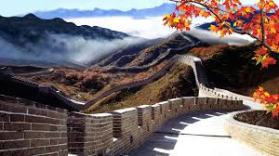 Autumn great wall of china