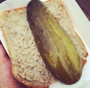 Lard and pickle