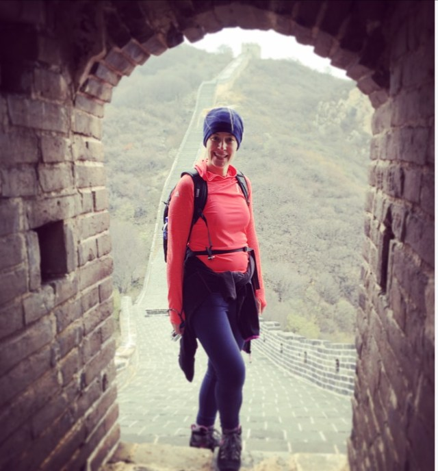 Badaling in the watch tower