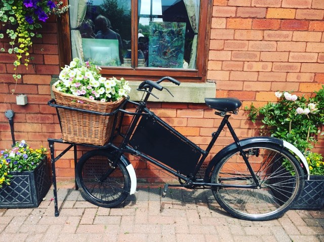 Bike open garden