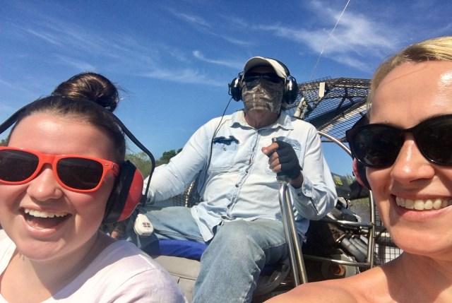 Everglades air boat