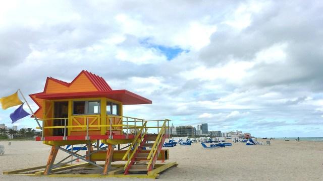 Miami Beach Yellow Hut