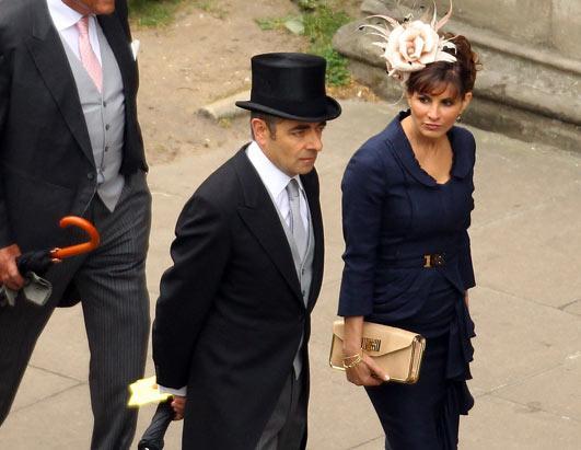 Image result for rowan atkinson, royal wedding