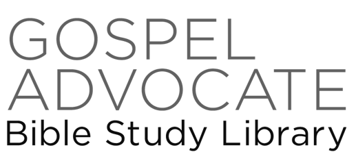 Special Holiday Offer: Updated Gospel Advocate Bible Study
