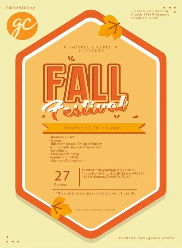 Gospel Chapel Fall Festival 2018