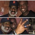 Joe Mettle hangs out with American gospel singer Bebe Winans
