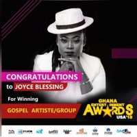 Joyce Blessing wins The Best Gospel Act at 2018 Ghana Entertainment