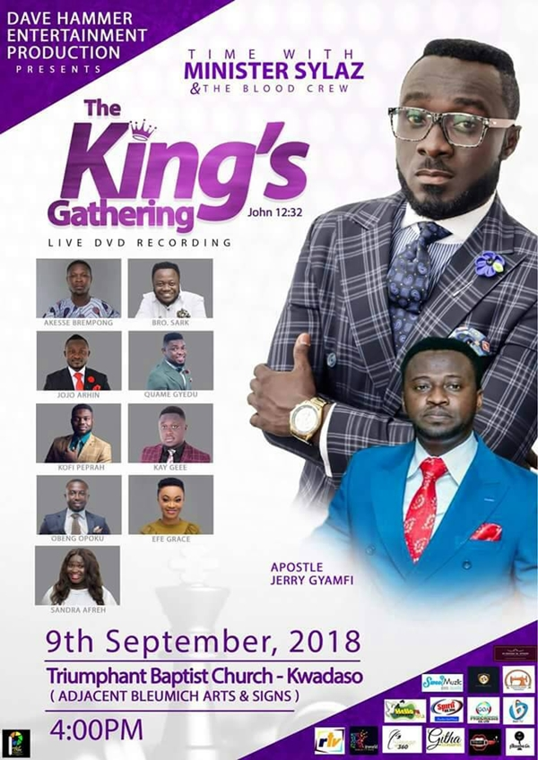 Minister Sylaz The King's Gathering set for September 9th