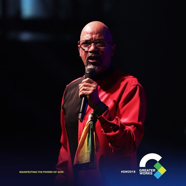 Bishop Tudor Bismark at Greater Works 2018 Event