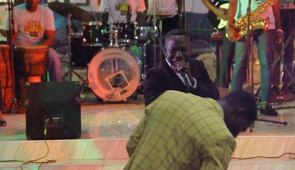 Ernest Acheampong at Isaac Frimpong Album Launch