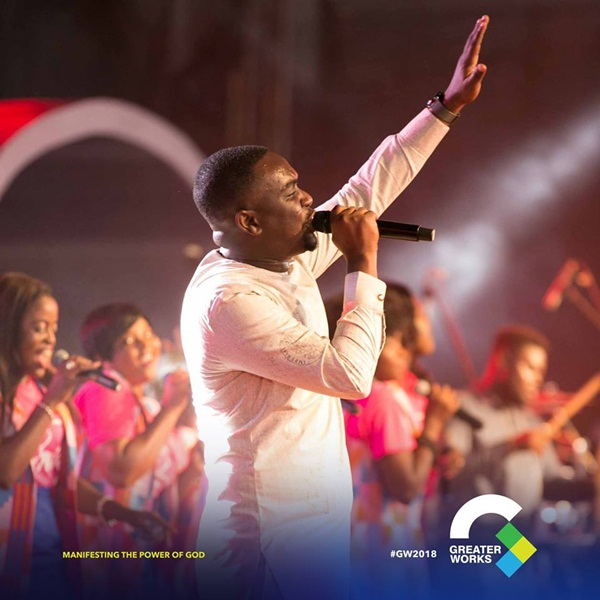 Joe Mettle at Greater Works 2018 Event