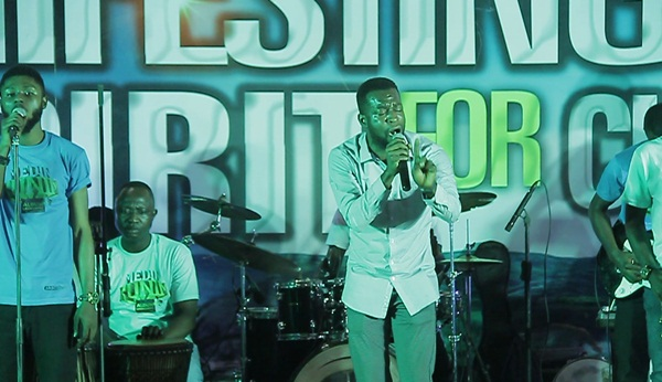 Kofi Takyi at Isaac Frimpong Album Launch