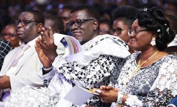 Mensah Otabil and Wife