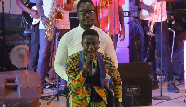 Minister Seth at Isaac Frimpong Album Launch