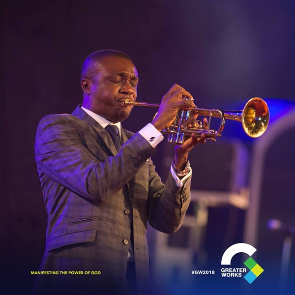 Nathaniel Bassey at Greater Works 2018 Event