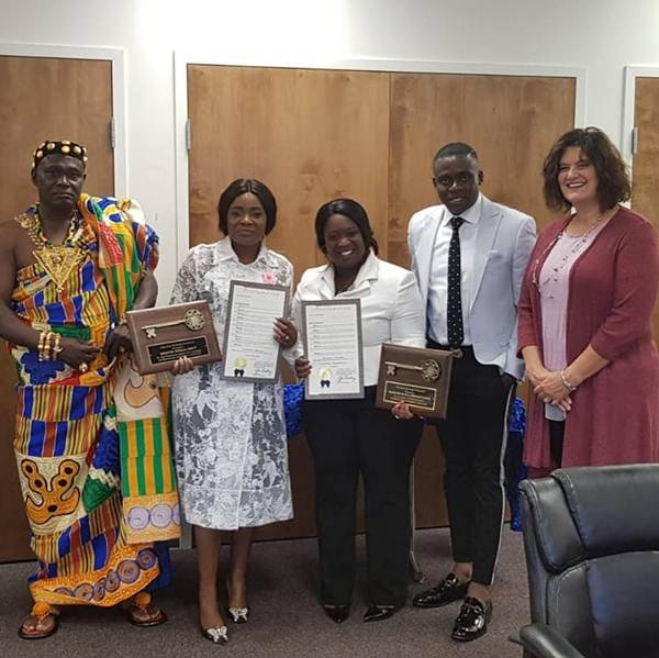 Ohemaa Mercy honored with City Key of Cincinnati