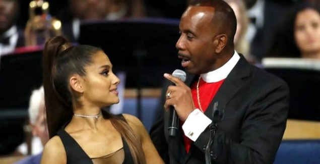 Pastor Charles Apologizes for Grazing Ariana's Breast