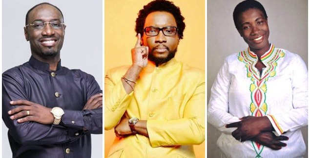 Top 3 Renowned Gospel Musicians that Own a Church Cecilia marfo, Sonnie badu and Josh Laryea