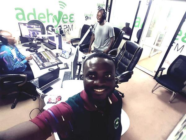 ARO Dan Adjei Kumasi Radio Tour