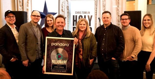 Chris Tomlin Becomes First Christian Artist to Reach Billion Streams Threshold on Pandora