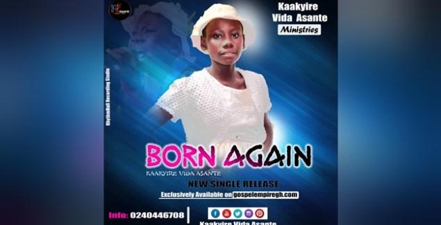 Kaakyire Vida Asante Celebrates 12th Birthday With Born Again Single