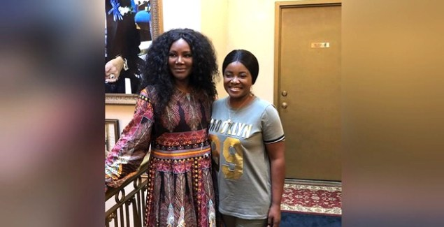 Ohemaa Mercy Hangs Out with Juanita Bynum
