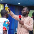 Prophet Dr Emmanuel Badu Kobi anoints Son, Counselor Lutterodt