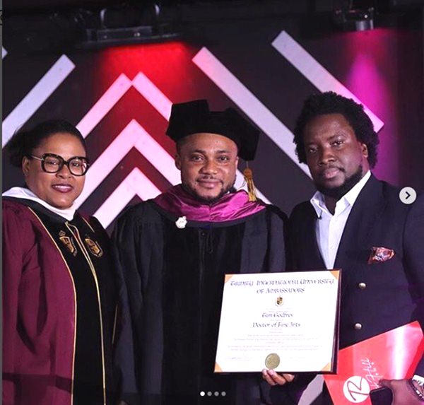 Tim Godfrey Bags A Doctorate Degree From U.S University 1