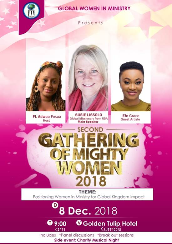 Global Women in Ministry GWIM Gathering of the Mighty Women is Set for December 8th 2