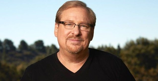 Pastor Rick Warren Recovering After Emergency Surgery