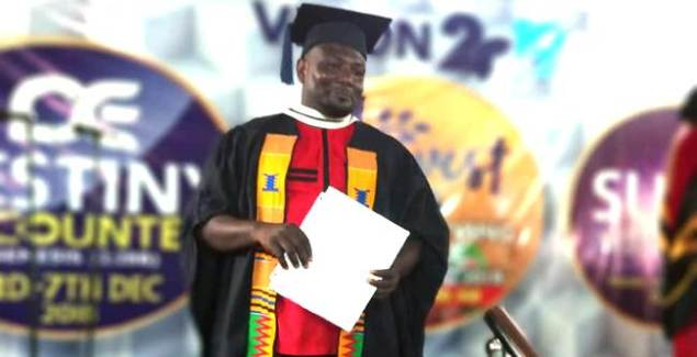 Ghanaian Gospel Musician Erico Graduates from Bible School