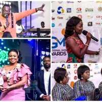 Gifty Osei & Others Win Big At National Gospel Music Awards 2018