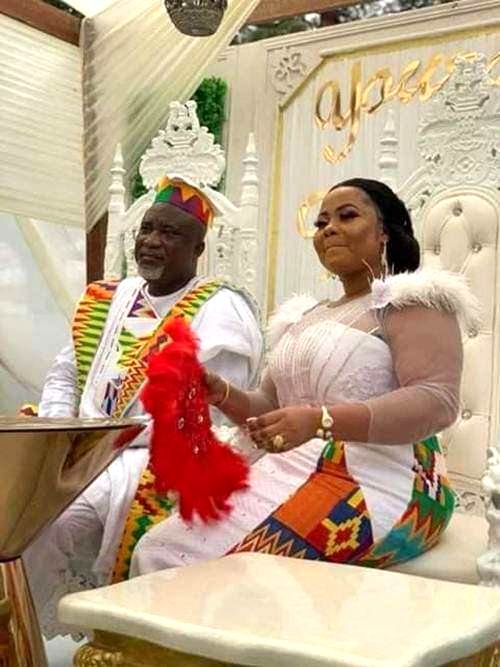 Gospel Musician Gifty Osei Finally Marries NPP's Mr Hopeson Adorye