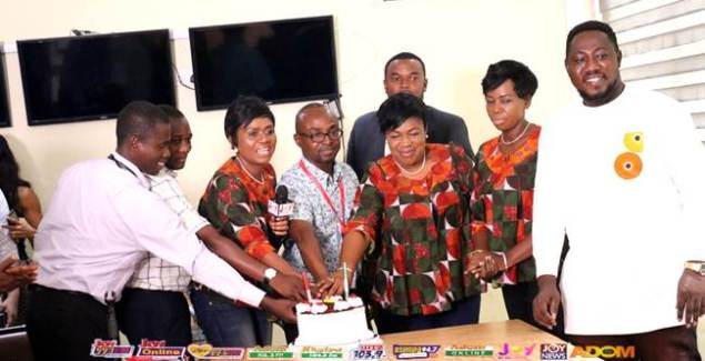 Daughters of Glorious Jesus Pay Courtesy Call to Multimedia Group