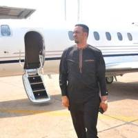Dr Chris Okafor Shows off his Newly Acquired Private Jet