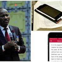 "Phone ""Stop Reading Bible From Phone in Church"" - Apostle Johnson Suleman"