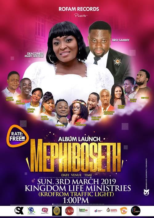 Deaconess Mary Sekeyere Set to Launch 'MEPHIBOSHETH' Album