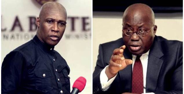 Failure: You'd Be a Failure if You Fail to Seek Justice for ... - Prophet to Nana Addo