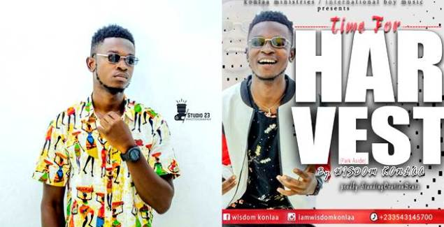 Urban Gospel Artiste Wisdom Konlaa Delivers New Single 'Harvest'
