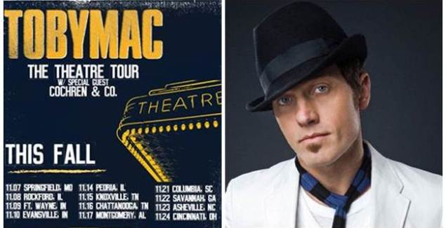 """TobyMac Announces Theatre Tour (""""HITS DEEP Tour"""" And """"I just need U"""")"""