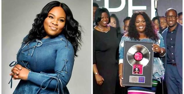 """Tasha Cobbs Leonard's """"Break Every Chain"""" Goes Platinum!"""