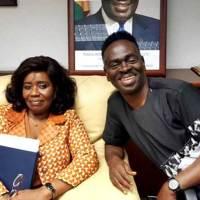 Yaw Sarpong Pays A Courtesy Call On Ghana's Ambassador To Spain