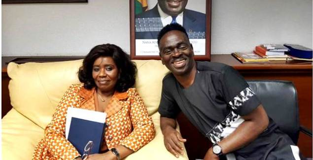 Yaw Sarpong Pays A Courtesy Call On Ghana's Ambassador To Spain