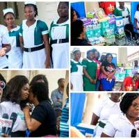 Women in worship 19 Organizers of 'Women in Worship 19' Donate to Cancer Unit at KBTH