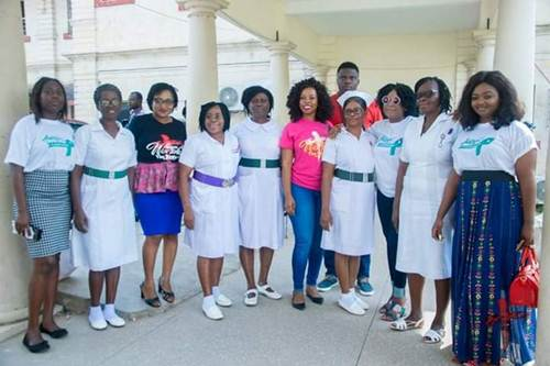 Women in worship 19 Donate to Cancer Unit at KBTH