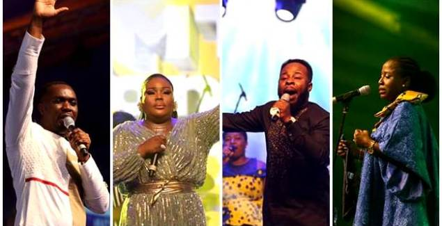 Diana Hamilton, Joe Mettle Thrill Patrons at MTN Stands in Worship 2019