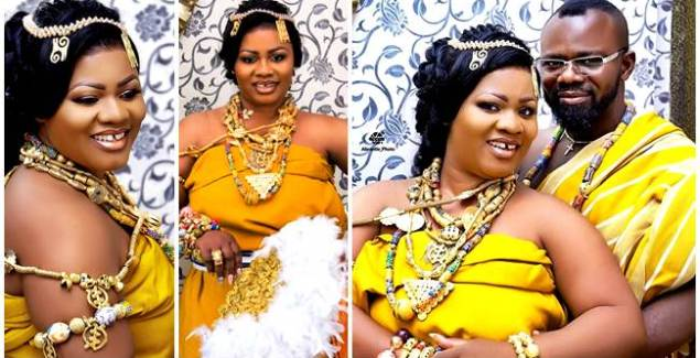 Rev Obaapa Christy Remarries In A Grand Style + Photos