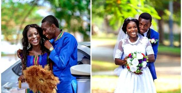 Former Hiplife Artiste Turned Pastor, Yaw Siki Marries + Photo