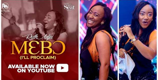 Ruth Adjei - Mebo (I will Proclaim) (Official Live Video)