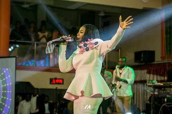 Ohemaa Mercy Delivers Rip-roaring Ministration at DH Experience 2020